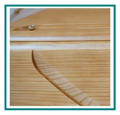 rotastyle casket manufacturer astro yellow pine detail1